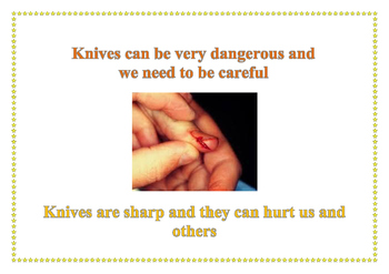 Social Story - Safe Use of Knives