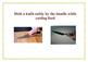 Social Story - Safe Use of Knives