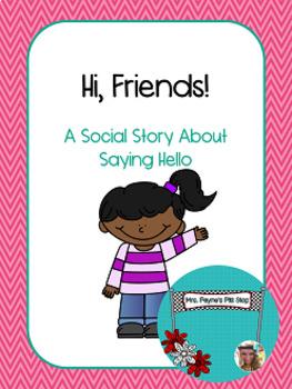 Social Story: Saying Hello