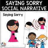 Social Story Saying Sorry