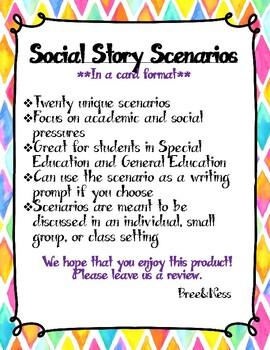 Social Story Scenarios