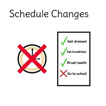 Social Story: Schedule Changes