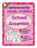 School Assembly Social Story for ASD, Non-Verbal, Special