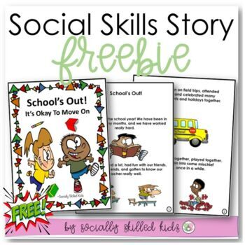 SOCIAL STORY  School's Out!