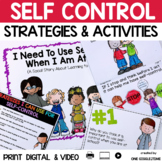 Social Story Self Control Print Digital Video