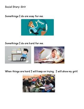 Social Story- Self Determination