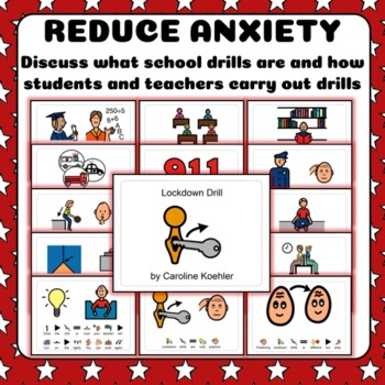 Social Story Set: Teach School Drills & Safety for Students with Autism