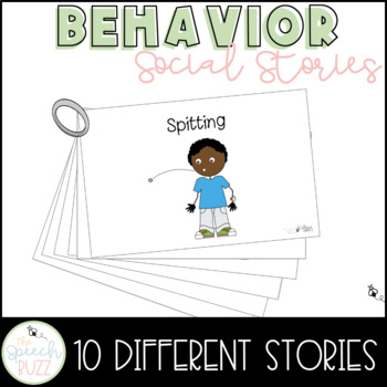Social Story Set for children with Autism:  Behavior