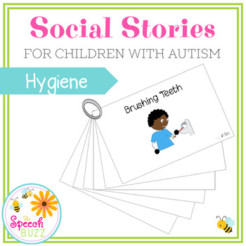 Social Story Set for children with Autism:  Healthy Habits