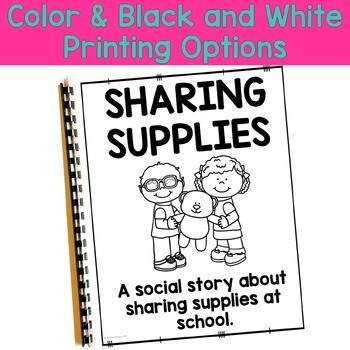 Social Story: Sharing Supplies