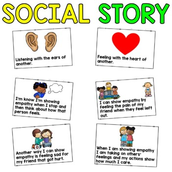 Social Story: Showing Empathy