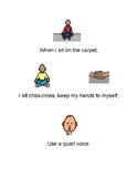 Social Story - Sitting on the Carpet