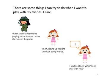 Social Story: Social Anxiety (girl)