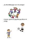 Social Story (Spanish): Play with Friends
