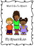 Social Story - Speech Room Rules