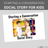 Social Story: Starting a Conversation