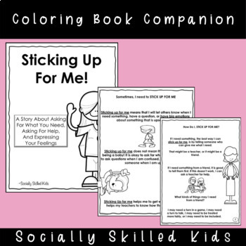 SOCIAL STORY: Sticking Up For Me! {For Girls}