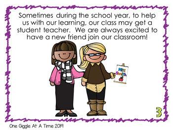 Social Story Student Teacher