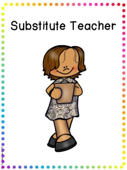 Social Story - Substitute