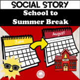 Teaching Story: Superboy and Summer Break!