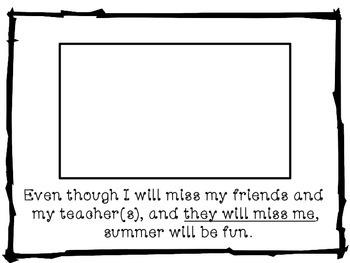 Social Story: Summer Vacation