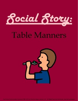 Social Story: Table Manners