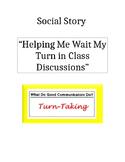 Social Story-Taking Turns