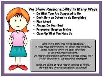 Social Story Teaching Character, Behavior, Manners