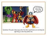 Social Story: Thor Gets Mad!