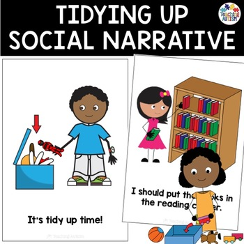 2afb136c6 Social Story Tidying Up by Teaching Autism