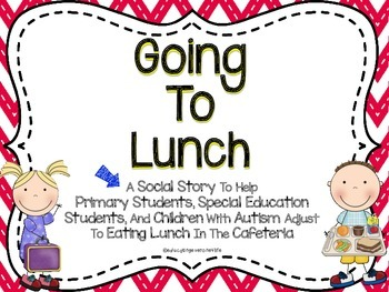 Going To Lunch Social Story
