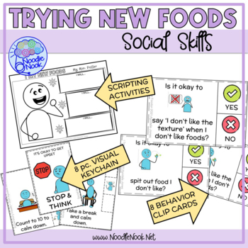 Trying New Foods- A Social Story for Autism and Early Elementary