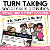 Social Story Turn Taking Print Digital and Video