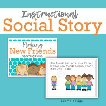 Social Story Unit: Making New Friends