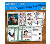 """Social Story Unit:  """"We Don't Hurt Others"""""""