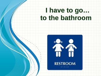 Social Story:  Use the Bathroom Inside