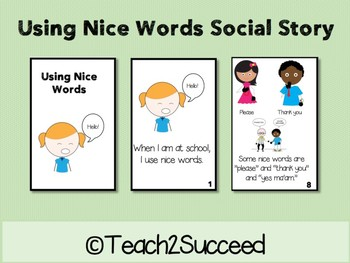 Social Story: Using Nice Words