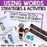 Social Story Using Words Instead Of Crying Print Digital Video