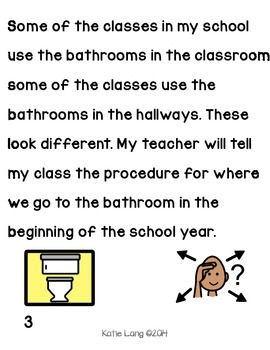 Social Story-Using the Bathroom