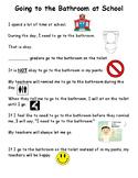 Social Story - Using the Bathroom at School