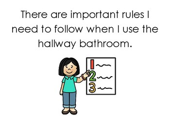 Social Story - Using the Bathroom at School