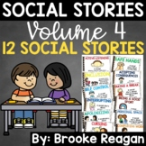 Social Story Volume 4: 12 Social Stories Teaching Appropriate Behavior