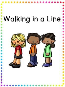 Social Story - Walking in a Line