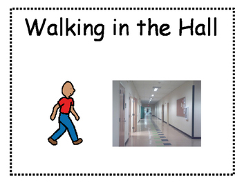 Social Story - Walking in the Hallway