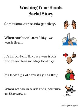 Social Story:  Washing Hands