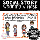 Social Story Wearing A Mask Print Digital Video For Distan