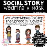Social Story Wearing A Mask Print Digital Video