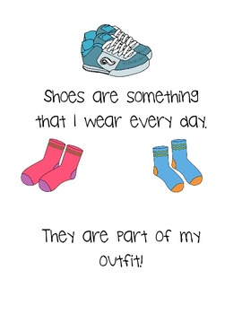 Social Story- Wearing my Shoes