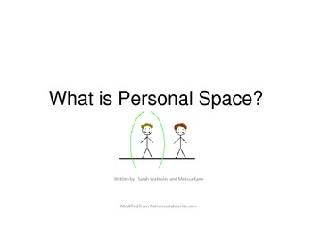 Social Story:  What Is Personal Space