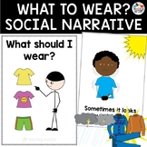 Social Story What to Wear in Different Weather